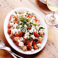 Dakos salad square