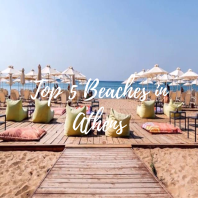 top 5 beaches in Athens square
