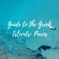 Greek Islands square