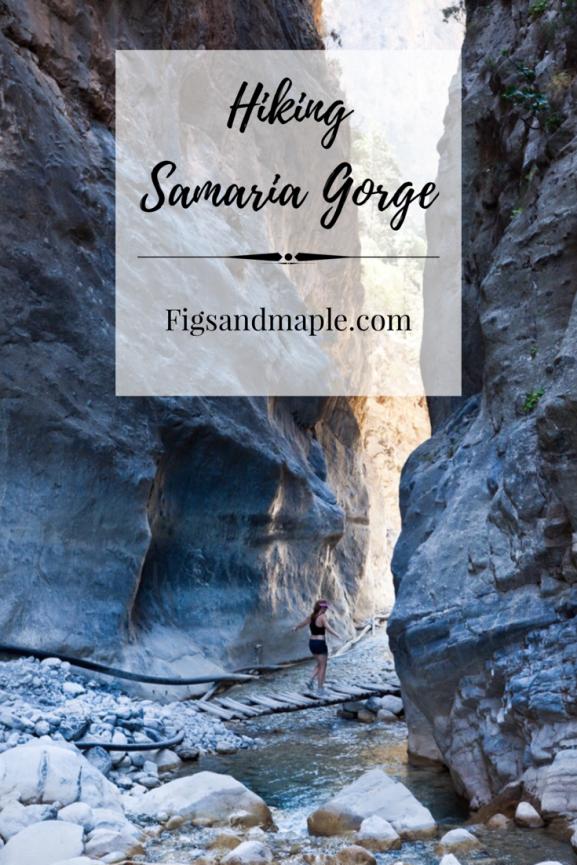 Samaria gorge pin